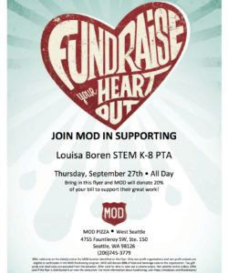 mod pizza fundraiser! » stem k8 pta pizza fundraiser flyer template pdf