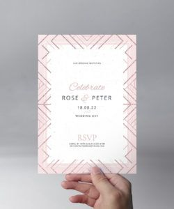 modern wedding invitation templates  brandpacks wedding invitation flyer template pdf