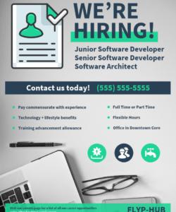 now hiring flyer template now hiring template flyer