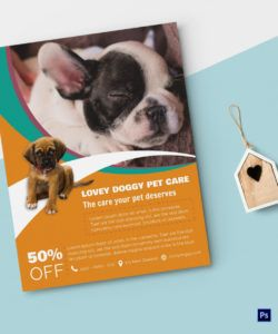 pet care flyer design template in psd word publisher pet care flyer template doc