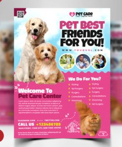 pet care flyer psd template  psd zone pet care flyer template pdf