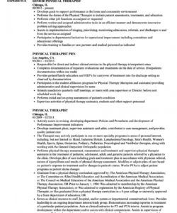 physical therapist resume samples  velvet jobs physical therapist job description template doc