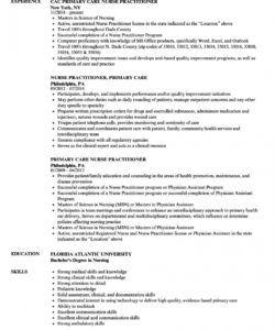 primary care nurse practitioner resume samples  velvet jobs nurse practitioner job description template