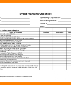 printable √ free printable corporate event planning checklist corporate event planning checklist template doc
