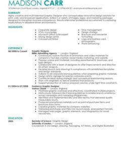 professional web designer resume examples  graphic & web senior graphic designer job description template and sample