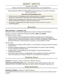 sample resume for an entrylevel mechanical engineer mechanical engineer job description template pdf
