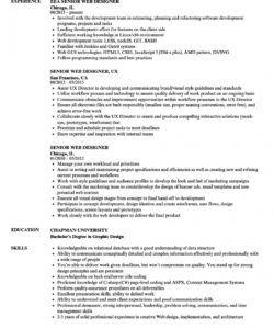 senior web designer resume samples  velvet jobs web designer job description template and sample