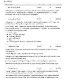 website brief template  web design brief template  bonsai web designer job description template doc