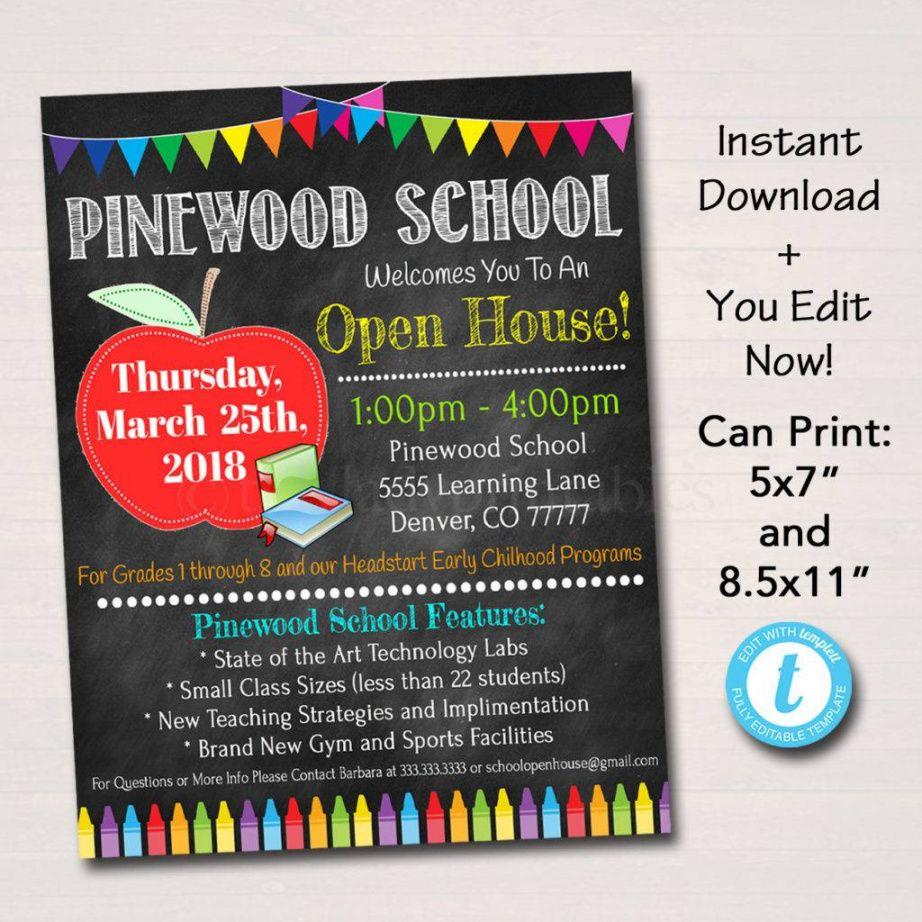 16 open house flyer designs & examples  psd ai  examples gym open house flyer template and sample