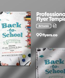back to school event flyer free psd template  99flyers school event flyer template