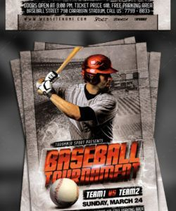 baseball tournament flyer baseball tournament flyer template pdf