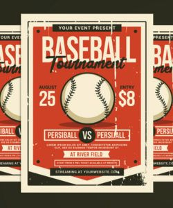 baseball tournament flyer corporate identity template baseball tournament flyer template