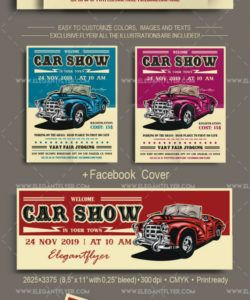 classic car show flyer template classic car show flyer template pdf