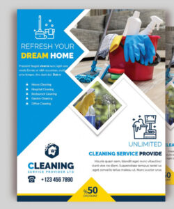 cleaning service flyer vol06 corporate identity template cleaning company flyer template pdf