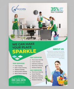 cleaning services flyer template on behance cleaning company flyer template