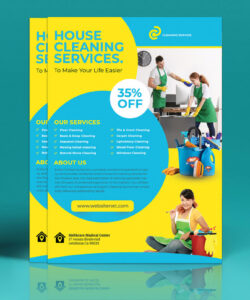 cleaning services flyer template on philau portfolios cleaning company flyer template pdf