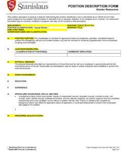 free 47 job description templates & examples ᐅ templatelab staff job description template and sample