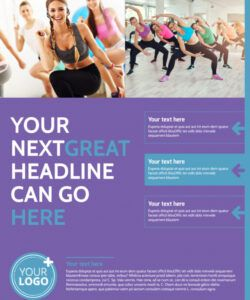 free aerobics class flyer template  mycreativeshop exercise class flyer template doc