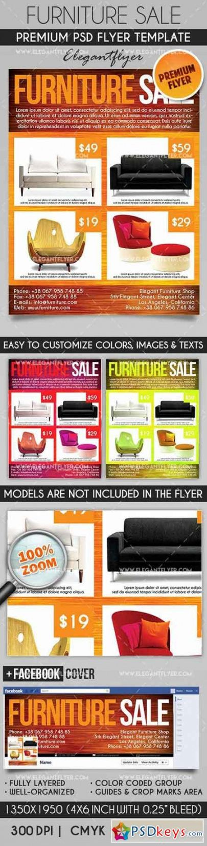 free articles for 24102016 » free download photoshop vector furniture sale flyer template and sample