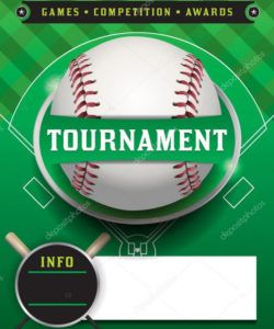 free baseball tournament template illustration 53588021 baseball tournament flyer template and sample