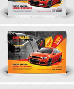 free car wash flyer graphics designs & templates from graphicriver mobile car wash flyer template doc