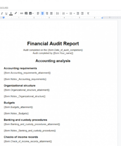 free financial audit checklist  process street financial audit checklist template doc