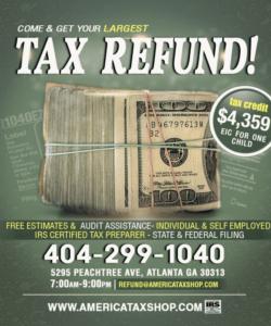 free free tax refund service template psd on behance tax preparer flyer template pdf
