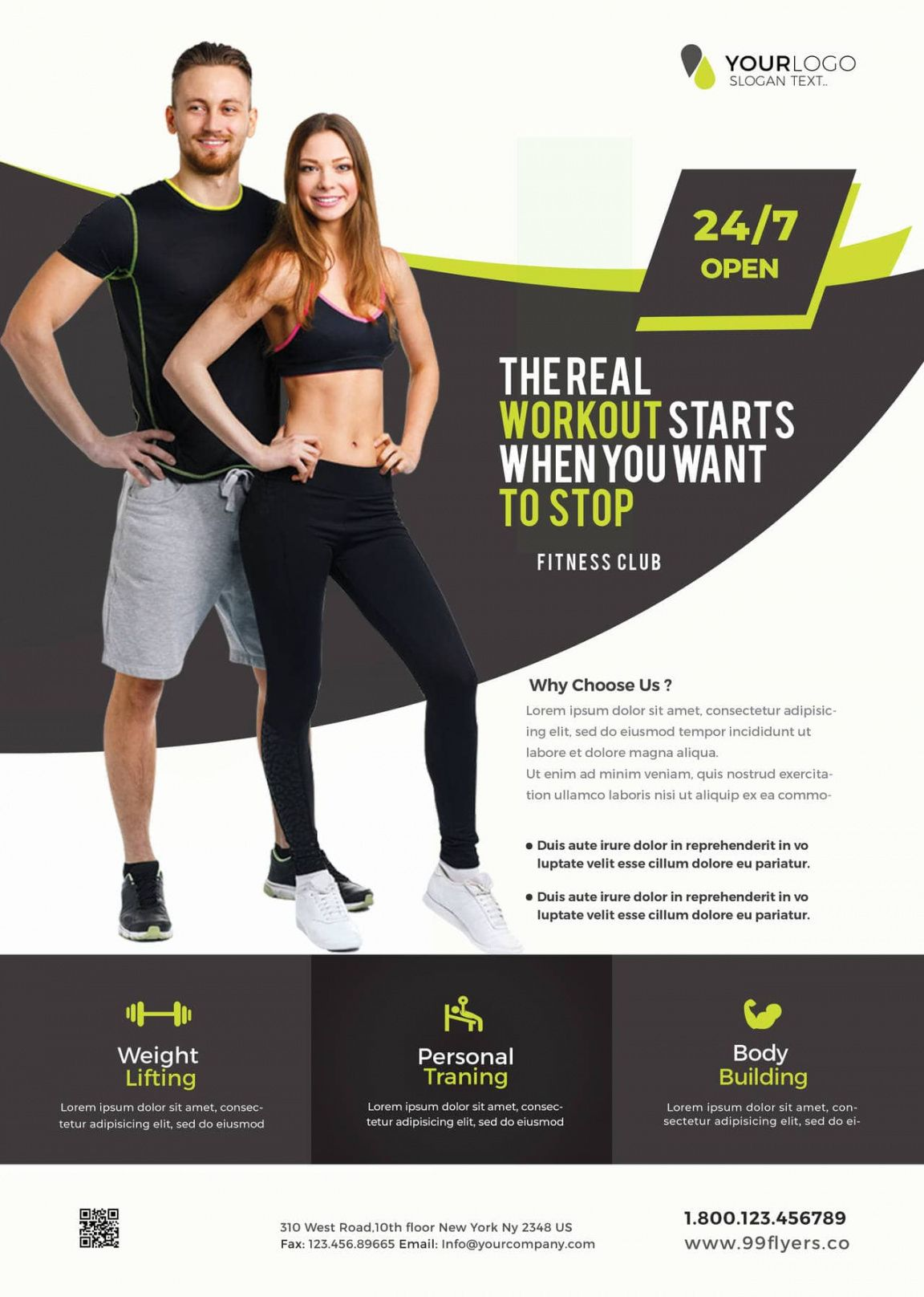 free gym and fitness free psd flyer template  stockpsd gym open house flyer template doc