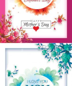 free happy mothers day flyer psd template ~ creativetacos mothers day flyer template pdf