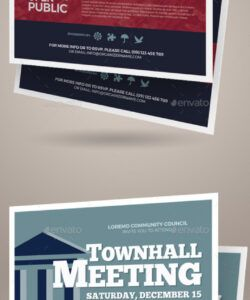 free meeting flyer graphics designs & templates from graphicriver neighborhood meeting flyer template and sample