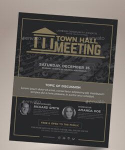 free meeting flyer graphics designs & templates from graphicriver neighborhood meeting flyer template pdf