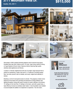 free real estate flyer free templates  zillow premier agent real estate marketing flyer template pdf