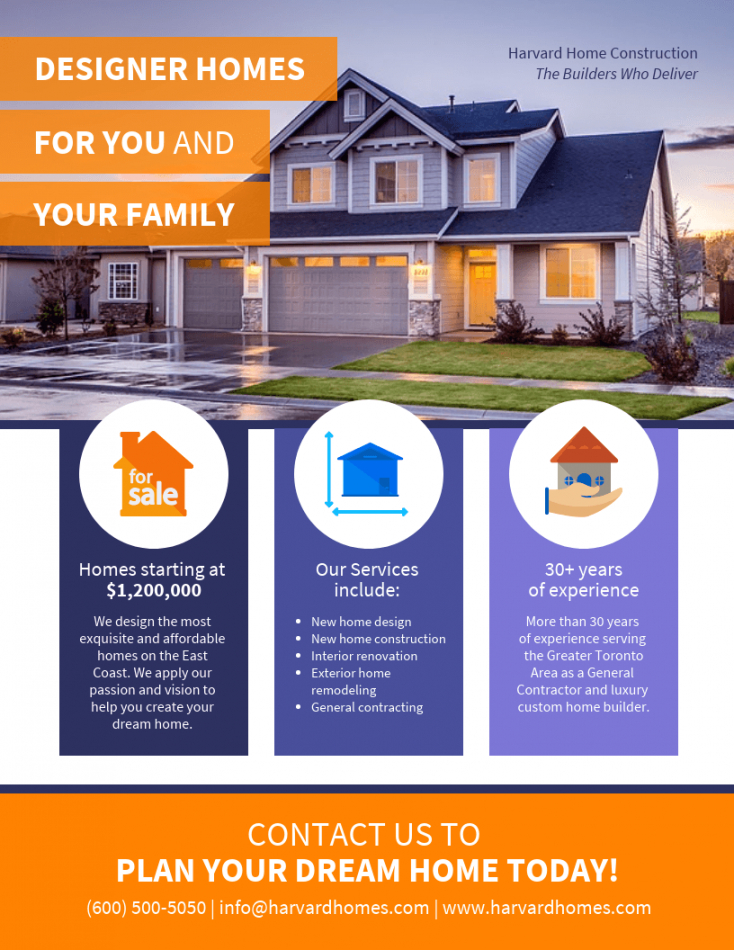 free real estate marketing pamphlet template real estate marketing flyer template
