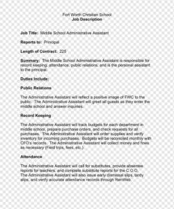 free résumé personal assistant job description administrative personal assistant job description template doc