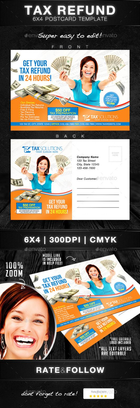 free tax preparation graphics designs & templates from graphicriver tax preparer flyer template and sample