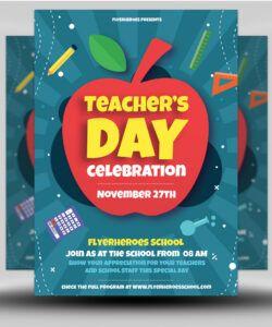 free teacher's day flyer template  flyerheroes customer appreciation day flyer template pdf