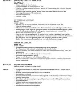 free veterinary assistant resume samples  velvet jobs veterinary receptionist job description template and sample