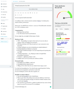 free virtual assistant job description template  ongig blog virtual assistant job description template and sample
