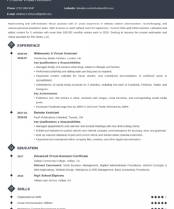 free virtual assistant resume examples & job description virtual assistant job description template