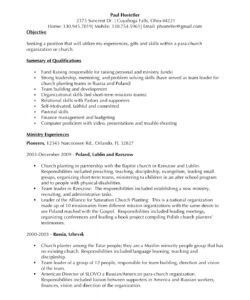 great resumes  xpastor® worship leader job description template pdf