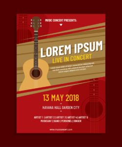 live music poster free vector art  182 free downloads live music flyer template doc