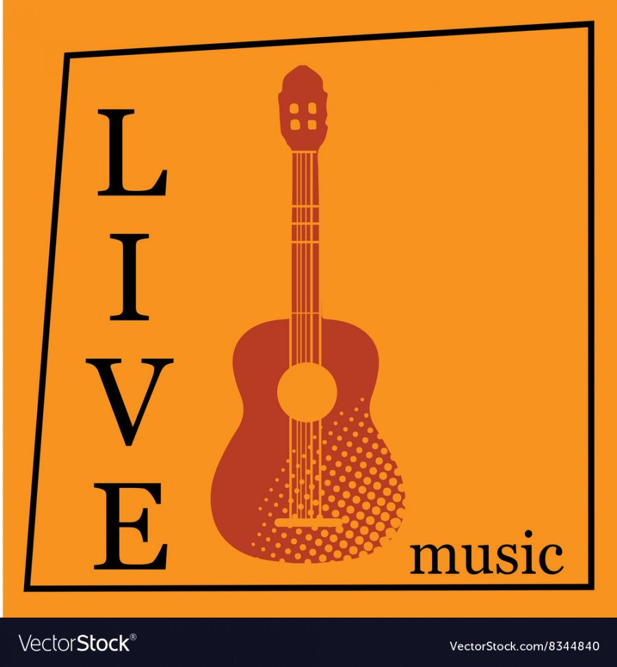 live music poster template royalty free vector image live music flyer template pdf