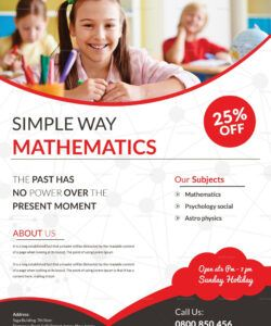 math tutoring flyer template free download  autismrpphub summer tutoring flyer template