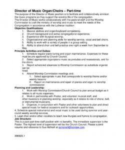 music director jobs church music director job description template doc