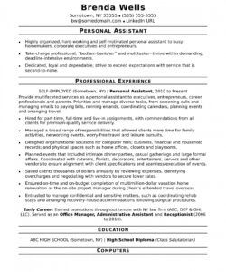 personal assistant resume sample  monster personal assistant job description template and sample