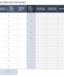 printable free business impact analysis templates smartsheet software change impact analysis template doc