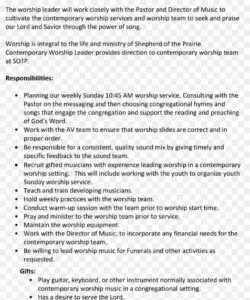 résumé template document architect cover letter png worship leader job description template