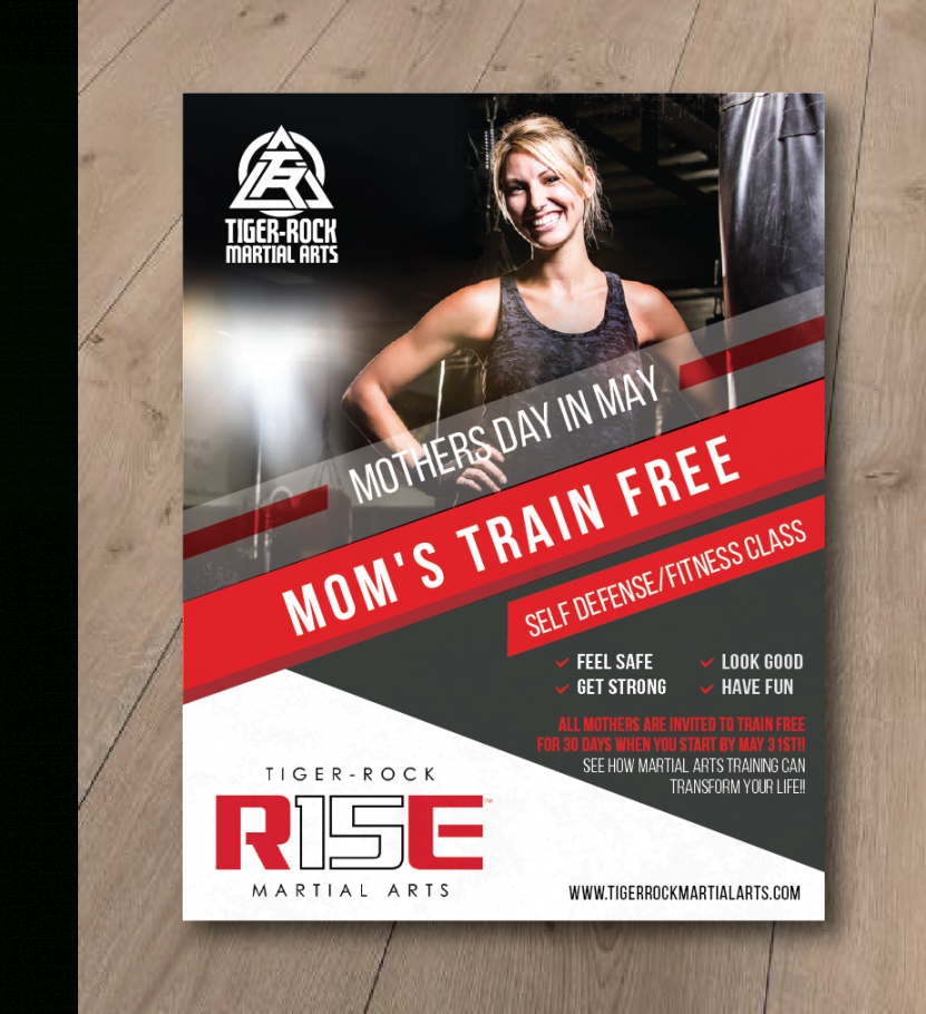 serious professional flyer design job flyer brief for a self defense class flyer template and sample