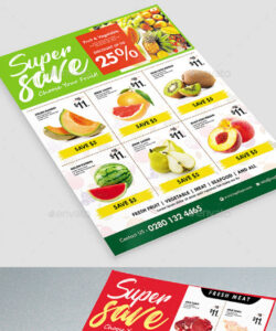 supermarket flyer graphics designs & templates grocery store flyer template and sample