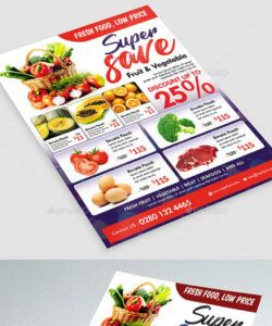 supermarket promotion flyer  product catalog flyer grocery store flyer template doc